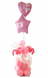 Baby Pink Giraffe-PLUS (Gift in Balloon)