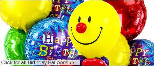 Helium Balloons Delivery Fully Boxed Inflated
